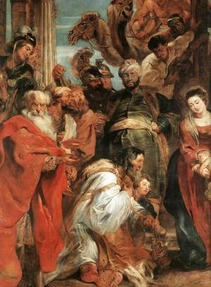 Rubens - The Adoration of the Magi (detail-1) 1624