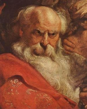 Rubens - The Adoration of the Magi (detail-2) 1624