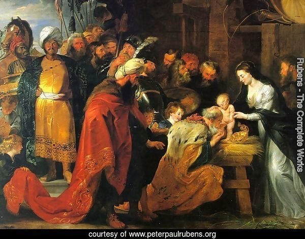 The Adoration of the Magi 1617-18