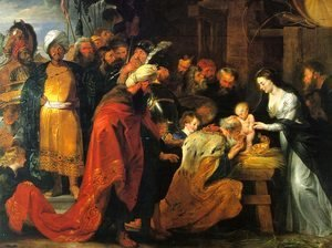 Rubens - The Adoration of the Magi 1617-18