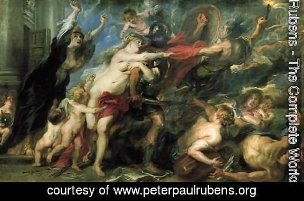 Rubens - The Consequences of War 1637-38