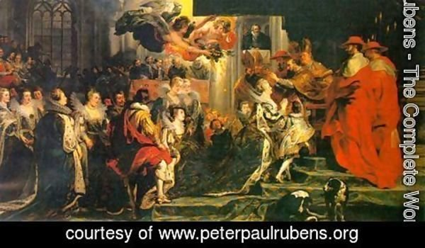 Rubens - The Coronation of Marie de' Medici 1622-24