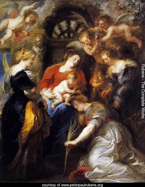 The Crowning of St Catherine 1631