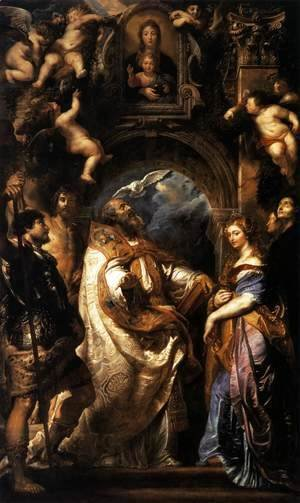 Rubens - The Ecstasy of St Gregory the Great 1608