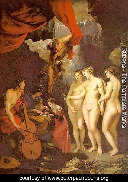 Rubens - The Education of Marie de' Medici 1622-24