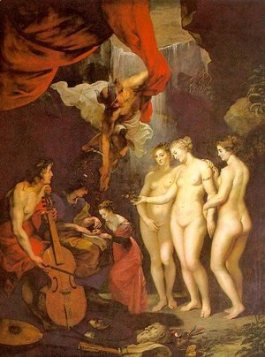 The Education of Marie de' Medici 1622-24