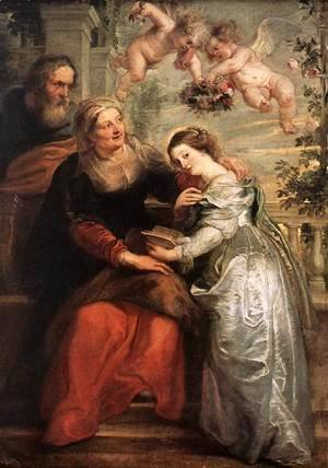 Rubens - The Education of the Virgin 1625-26