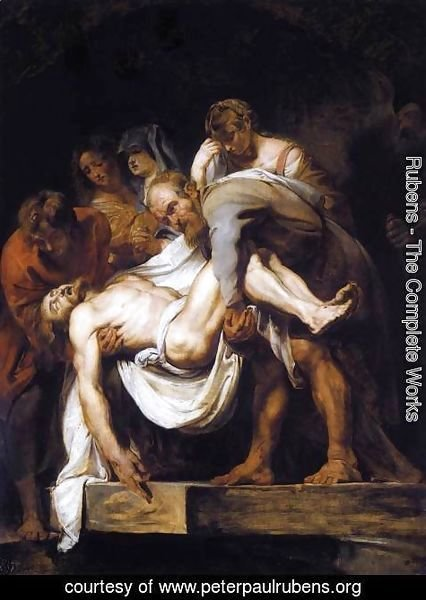 Rubens - The Entombment 1611-12