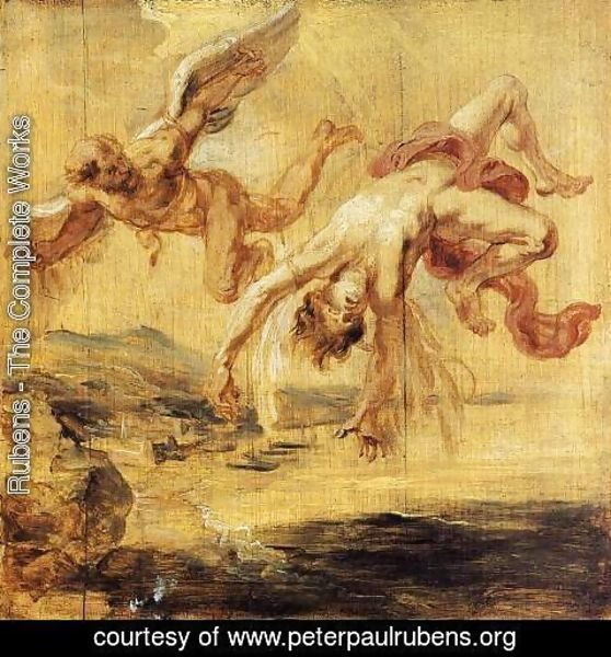 Rubens - The Fall of Icarus 1636