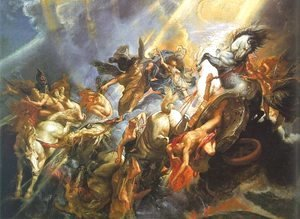Rubens - The Fall of Phaeton 1605