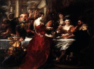 Rubens - The Feast of Herod 1633
