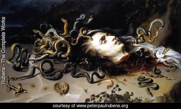 The Head of Medusa c. 1617