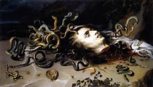 Rubens - The Head of Medusa c. 1617