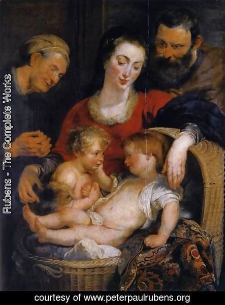Rubens - The Holy Family with St Elizabeth 1614-15