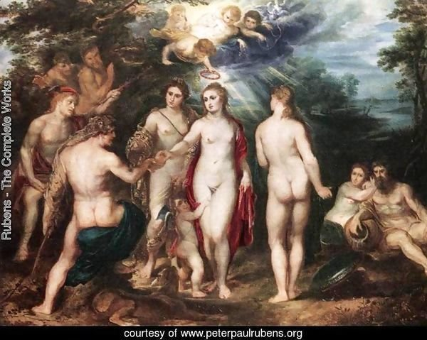 The Judgment of Paris c. 1625
