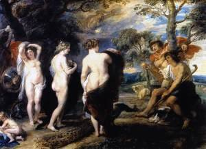 The Judgment of Paris c. 1636