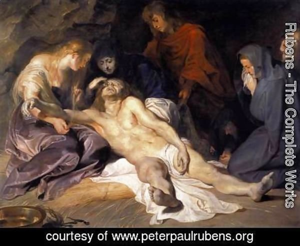 Rubens - The Lamentation 1614