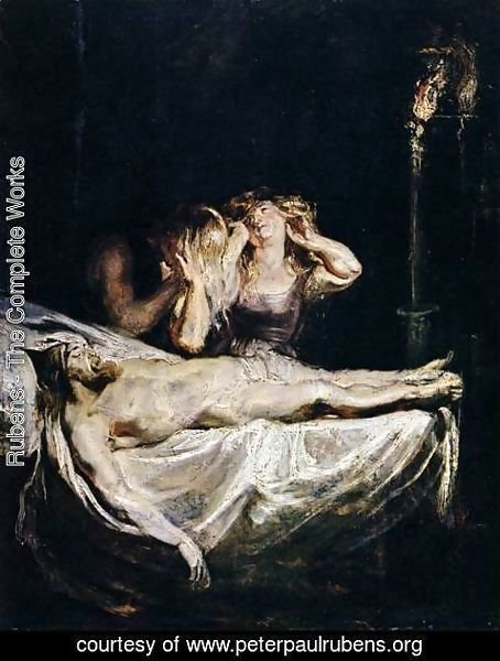 Rubens - The Lamentation c. 1609