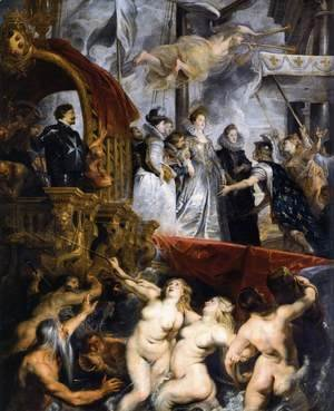The Landing of Marie de Medicis at Marseilles 1623-25