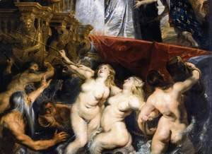 Rubens - The Landing of Marie de Médicis at Marseilles (detail) 1623-25