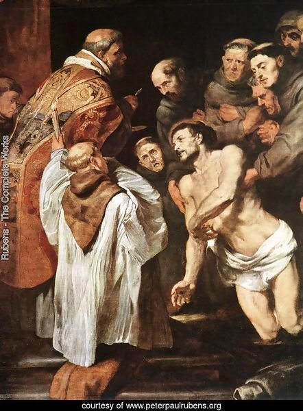 The Last Communion of St Francis 1619