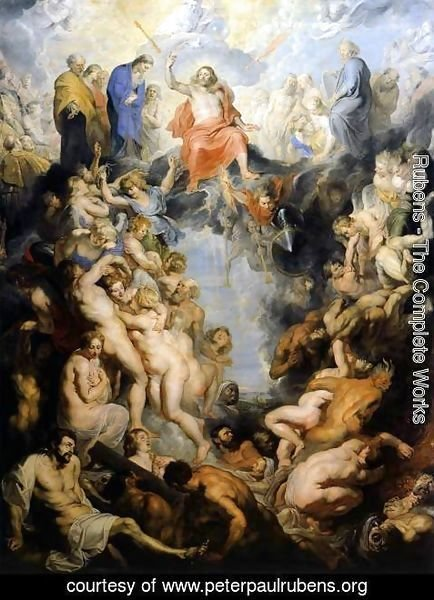 Rubens - The Last Judgement 1617