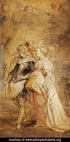 Rubens - The Marriage of Henri IV of France and Marie de Medicis 1628-30