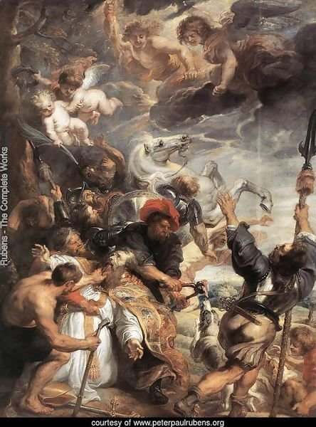 The Martyrdom of St Livinus 1633