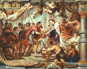 Rubens - The Meeting of Abraham and Melchizedek 1625