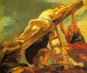 Rubens - The Raising of the Cross 1620-21