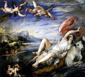 Rubens - The Rape of Europa c. 1630