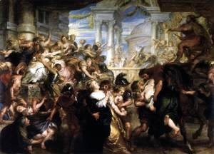 Rubens - The Rape of the Sabine Women 1635-37