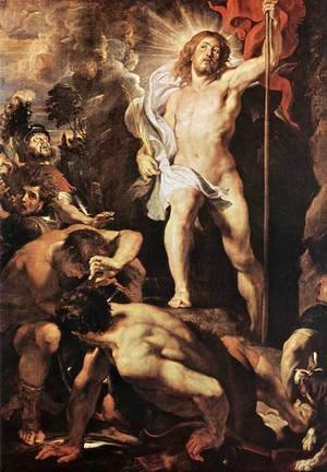 Rubens - The Resurrection of Christ (centre panel) c. 1611-12