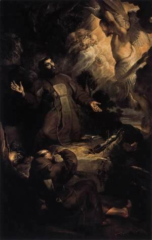 Rubens - The Stigmatization of St Francis c. 1616
