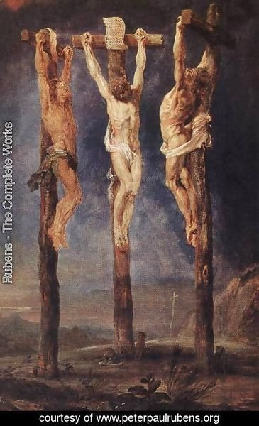 Rubens - The Three Crosses c. 1620