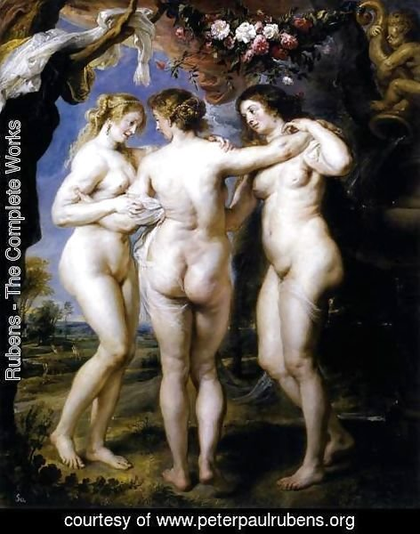 Rubens - The Three Graces 1639