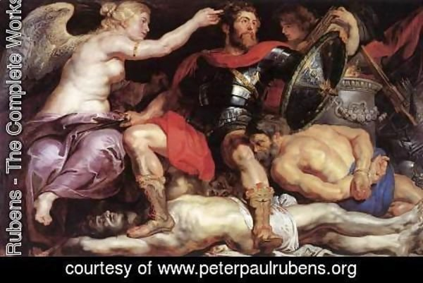 Rubens - The Triumph of Victory c. 1614
