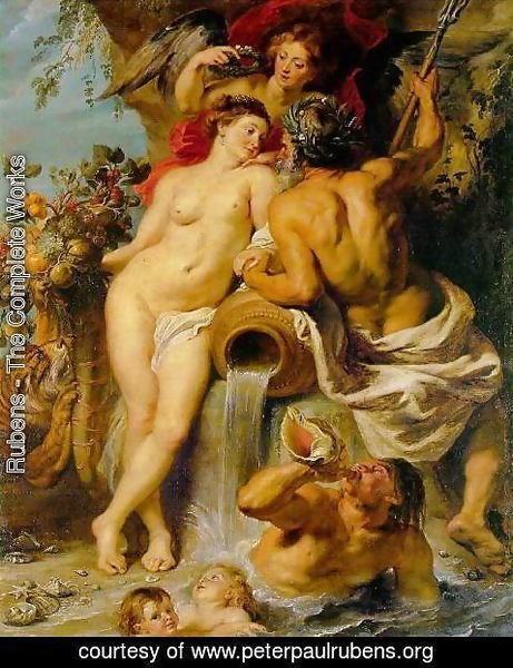 Rubens - The Union of Earth and Water c. 1618