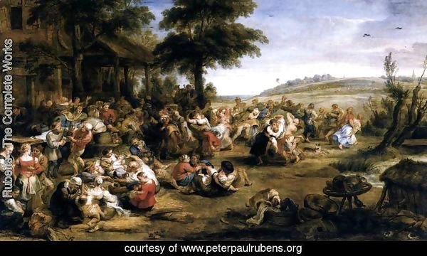 The Village Fete (Flemish Kermis) 1635-38