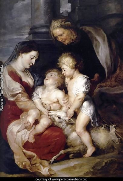 The Virgin and Child with St Elizabeth and the Infant St John the Baptist c. 1615