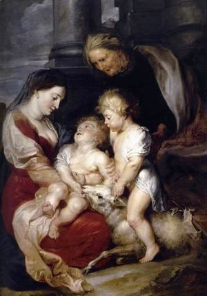 Rubens - The Virgin and Child with St Elizabeth and the Infant St John the Baptist c. 1615
