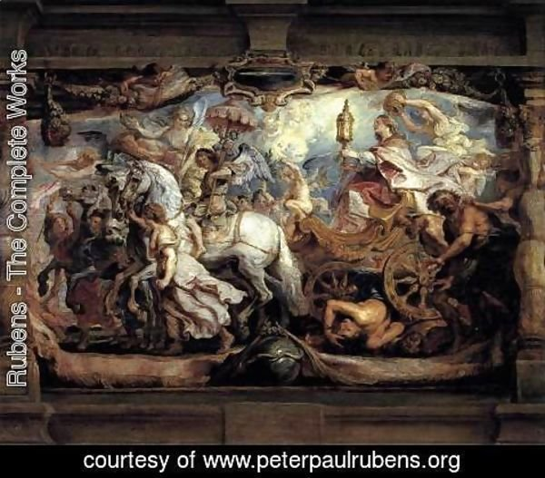 Rubens - Triumph of Church over Fury, Discord, and Hate 1628