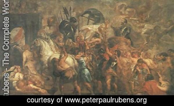 Rubens - Triumphal Entry of Henry IV into Paris 1627-30