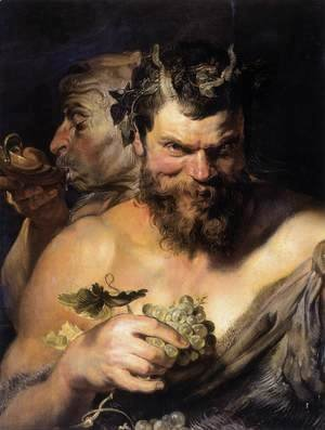 Rubens - Two Satyrs 1618-19