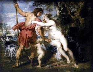 Rubens - Venus and Adonis c. 1635