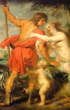 Rubens - Venus and Adonis (detail)