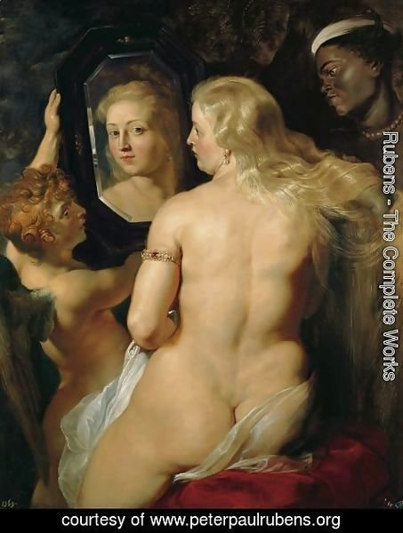 Rubens - Venus at a Mirror c. 1615