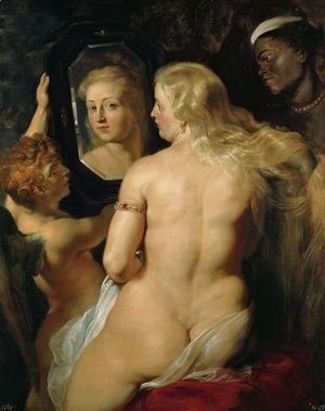 Venus at a Mirror c. 1615