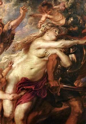 Rubens - The Consequences of War [detail: 1]