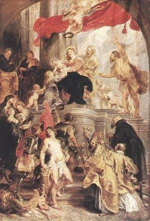Rubens - Bethrotal of St Catherine (sketch)